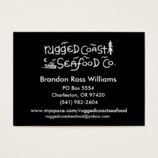 Rugged Coast Business Cards