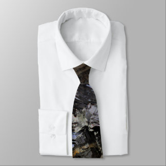 Rugged Earth Masculine Black Tie