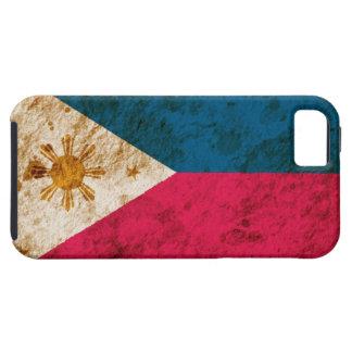 Rugged Filipino Flag iPhone 5 Case