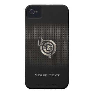 Rugged French Horn iPhone 4 Case-Mate Cases