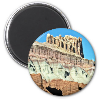 Rugged Heights - Capital Reef National Park Magnet