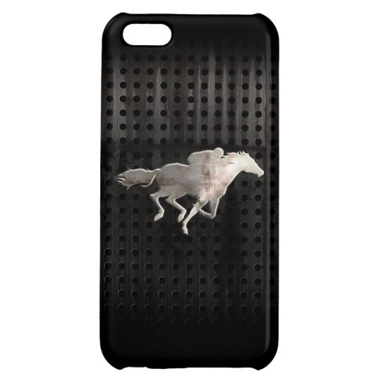 Rugged Horse Racing Cover For iPhone 5C