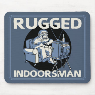 Rugged Indoorsman II Mouse Pad