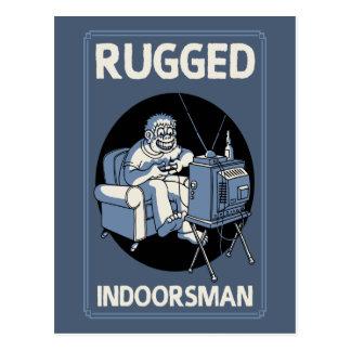 Rugged Indoorsman II Postcard