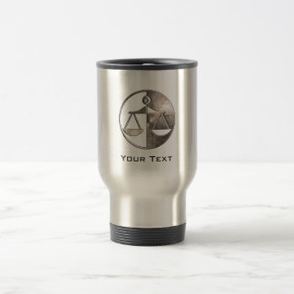 Rugged Justice Scales Coffee Mug