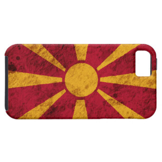 Rugged Macedonian Flag iPhone 5 Case