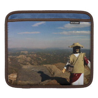 Rugged mountaineering Action Figure Jesus Sleeve For iPads
