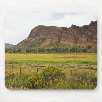 rugged mountains in central Colorado Mouse Pad