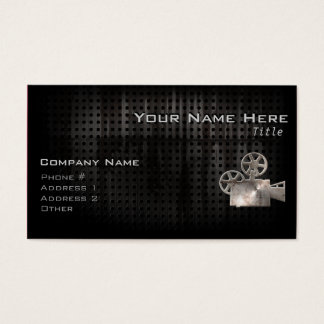 Rugged Movie Camera Business Card