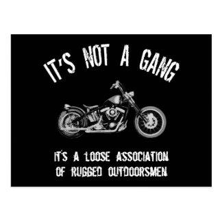 Rugged Outdoorsmen Postcard