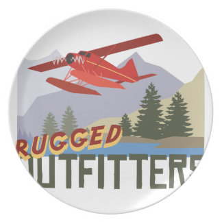 Rugged Outfitters Dinner Plates