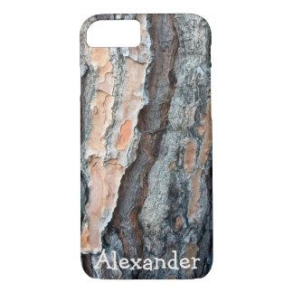 Rugged Printed Pine Bark Custom iPhone 8/7 Case