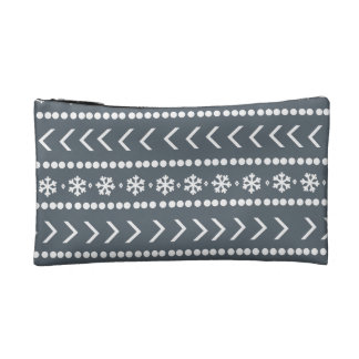 Rugged Snow make-up pouch - grey