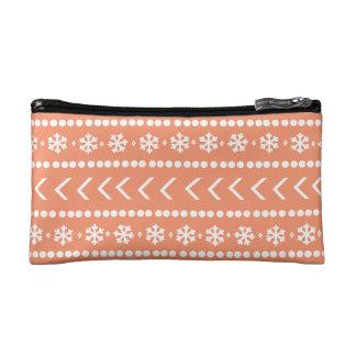 Rugged Snow make-up pouch - orange