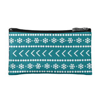 Rugged Snow make-up pouch - teal Cosmetic Bags