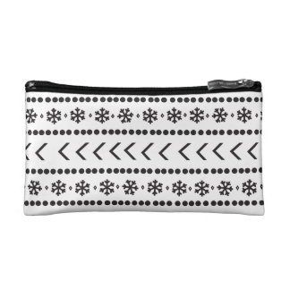 Rugged Snow make-up pouch - white