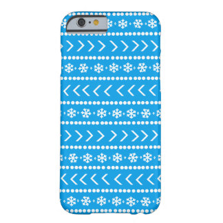 Rugged Snow phone case - blue