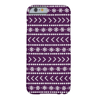 Rugged Snow phone case - plum