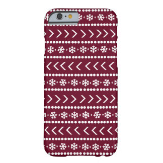 Rugged Snow phone case - red