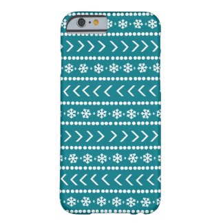 Rugged Snow phone case - teal