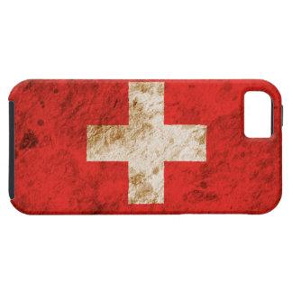 Rugged Swiss Flag iPhone 5 Case
