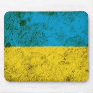 Rugged Ukrainian Flag Mouse Pad