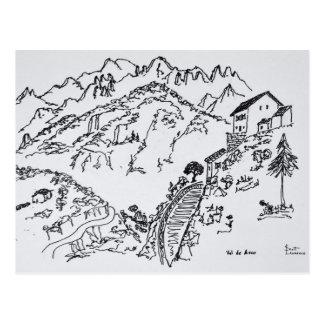 Rugged Val d'Asco | Corsica, France Postcard