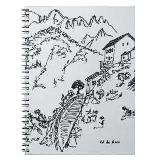 Rugged Val d'Asco | Corsica, France Spiral Notebook