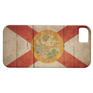 Rugged Wood Florida Flag Case For The iPhone 5