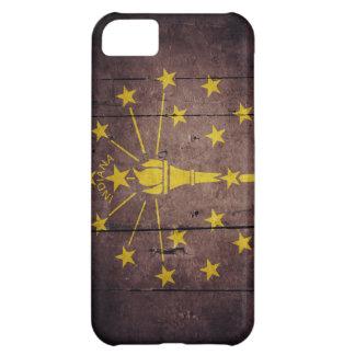 Rugged Wood Indiana Flag iPhone 5C Cover