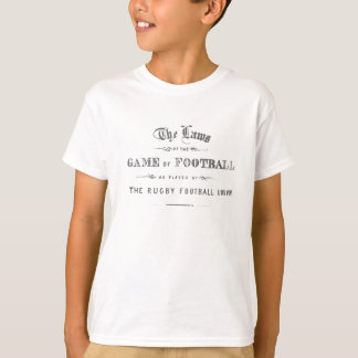 Ruggershirts Laws of Rugby T-Shirt
