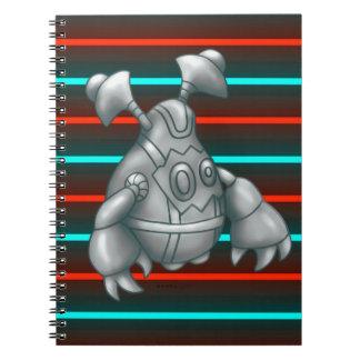 RUGU ROBOT MONSTER NOTE BOOK