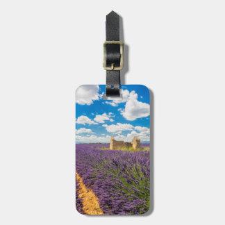 Ruin in Lavender Field, France Bag Tag