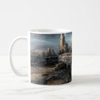 Ruined City Basic White Mug