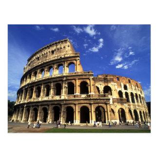 Ruines célèbres du Colisé à Rome Italie Cartes Postales