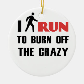 Ruining and health, to burn off the crazy ceramic ornament