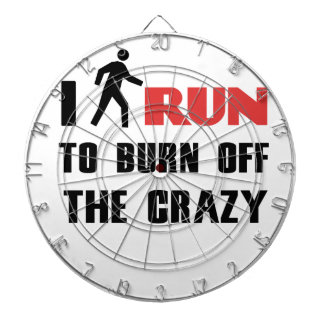 Ruining and health, to burn off the crazy dartboard