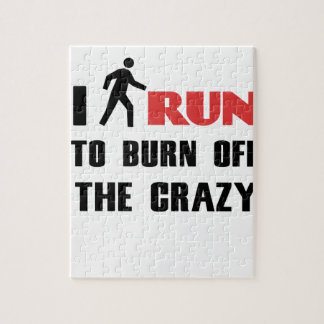 Ruining and health, to burn off the crazy jigsaw puzzle