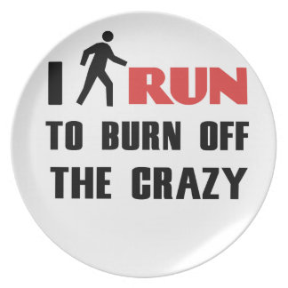 Ruining and health, to burn off the crazy plate