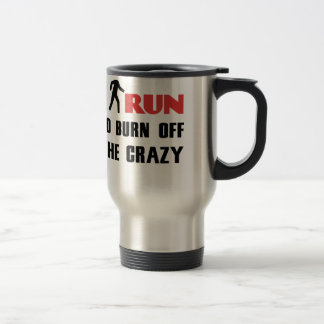 Ruining and health, to burn off the crazy travel mug