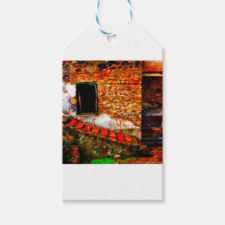 Ruins at Pompeii Italy Gift Tags