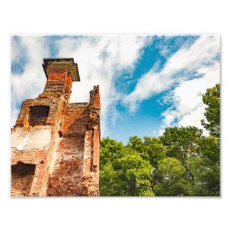 Ruins at Rosewell Plantation Photo Print