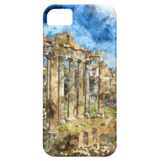 Ruins in Rome iPhone 5 Covers