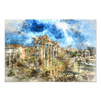 Ruins in Rome Photo Print