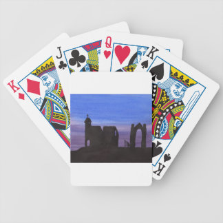 Ruins In the Gloaming Bicycle Playing Cards