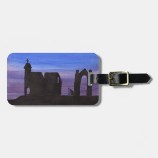 Ruins In the Gloaming Luggage Tag