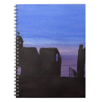 Ruins In the Gloaming Notebook