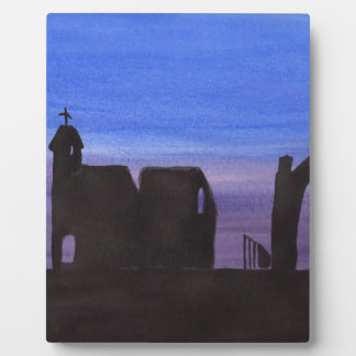 Ruins In the Gloaming Plaque