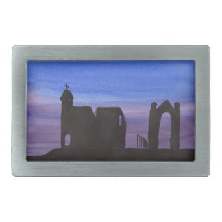 Ruins In the Gloaming Rectangular Belt Buckles