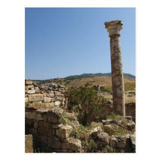 Ruins of ancient HIERAPOLIS. Postcard